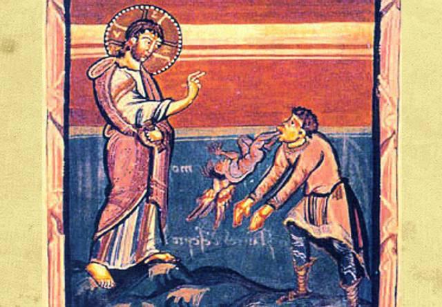 Y él (Jesús) le preguntó (al hombre):  «¿Cuál es tu nombre?» Y le respondió diciendo: «Mi nombre es Legión, pues somos muchos». Evangelio de Marcos, 5:9.