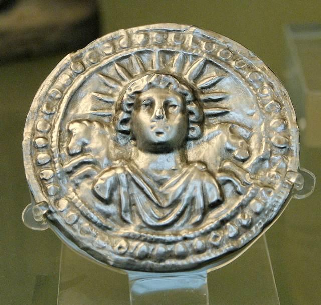 Mitra como Sol Invicto, Museo Británico.