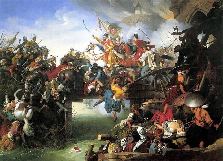 La muerte del sultán, las bajas de 30.000 soldados causadas por el sitio y la irrupción del invierno obligaron a los turcos a retirarse a Estambul. Los húngaros no pudieron reconquistar la ciudad hasta 1689.