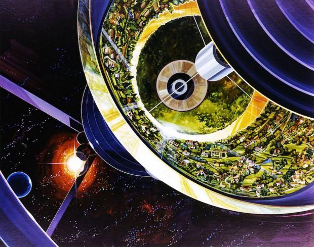 Todos esperan que nuestra progenie establezca colonias en la Luna y Marte, pero la mejor apuesta es construir enormes ciudades orbitales en donde se pueda vivir sin la necesidad de un traje espacial.