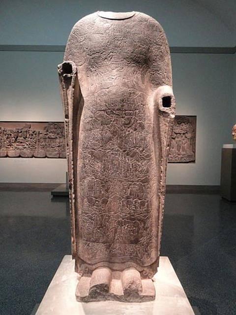 La estatua del Buda expuesta en la Galería de Arte Freer, Washington DC, Estados Unidos.