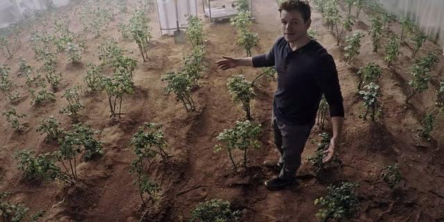 Escena de la película 'The Martian'.
