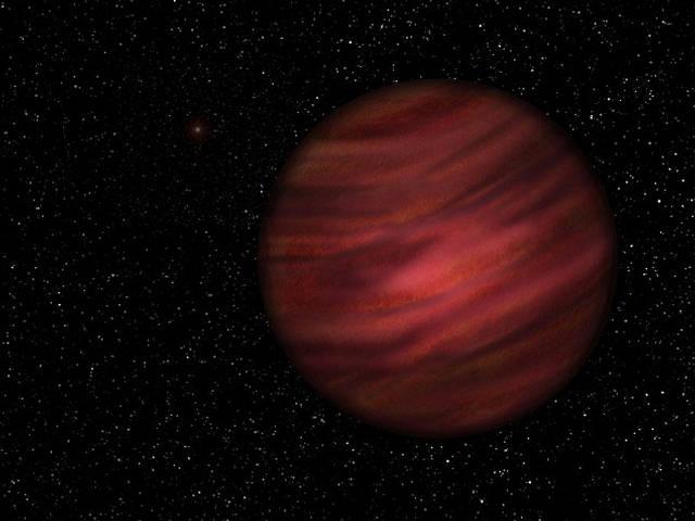 El planeta tarda 900.000 años en cumplir una órbita completa.