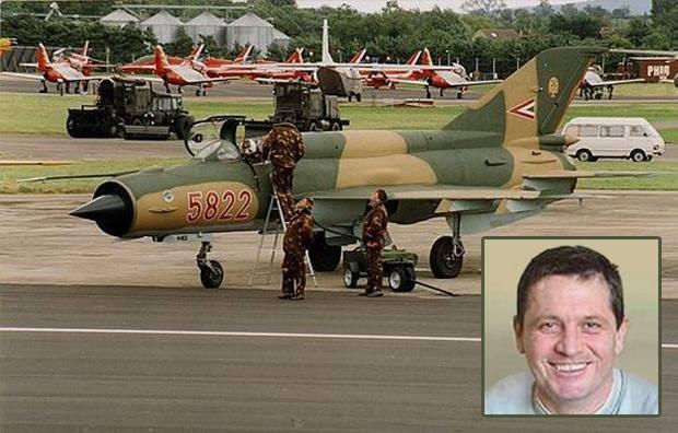 Capitán Attila Dobay, el piloto que protagonizó el incidente con el ovni.