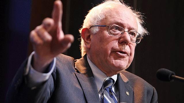 Bernard 'Bernie' Sanders, senador junior de los Estados Unidos por el estado de Vermont y precandidato del Partido Demócrata para las elecciones presidenciales de 2016 en dicho país.