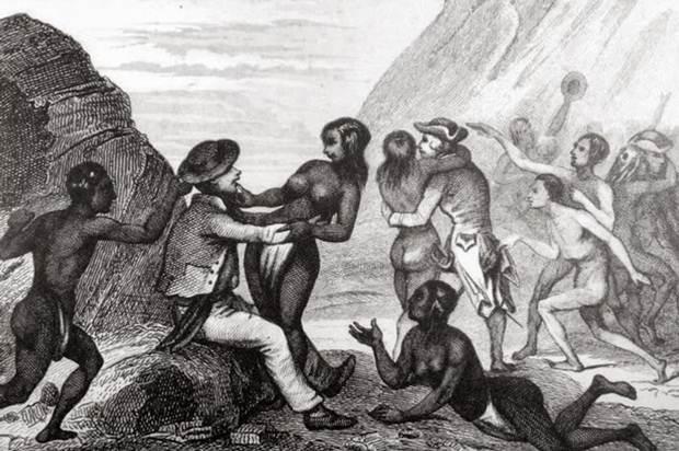 La población medró y fue sostenible hasta su primer contacto con los europeos.