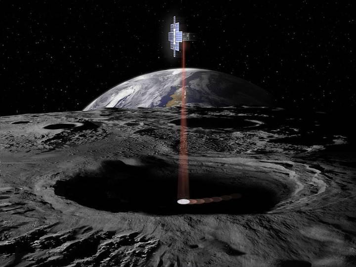 'Lunar Flashlight', uno de los 13 satélites.