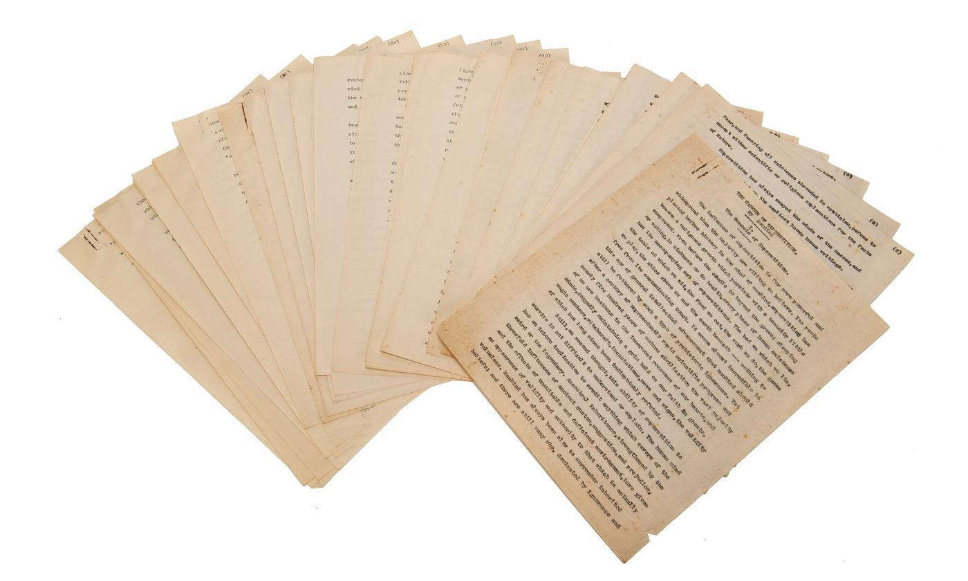 Un manuscrito perdido de H.P. Lovecraft ha sido descubierto, después de décadas en las que parecía que no era más que una leyenda.