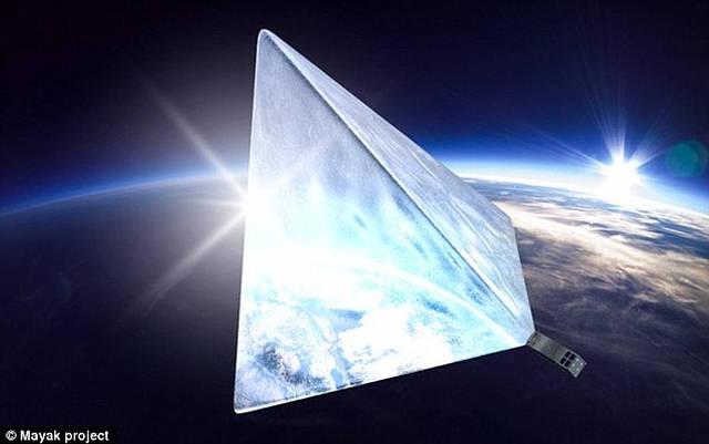 Los ingenieros rusos planean situar a su «estrella» artificial en una   órbita heliosíncrona, a 600 km de altura.
