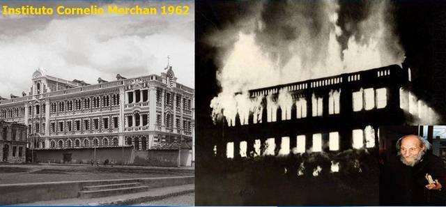 Incendio del Museo, 1962.