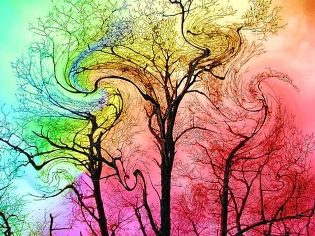 La droga LSD es conocida por sus efectos psicológicos, entre los que se incluyen alucinaciones con ojos abiertos y cerrados, sinestesia, percepción distorsionada del tiempo y disolución del ego.