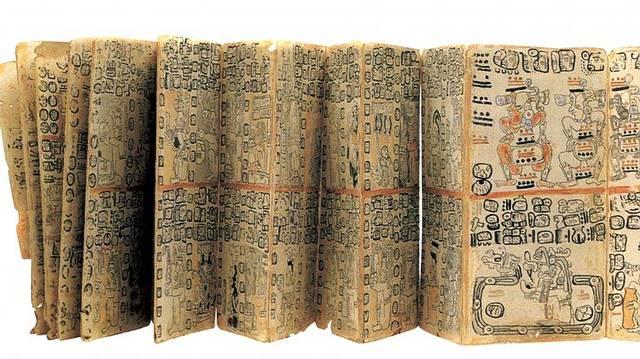 El Códice Tro-Cortesiano o Códice de Madrid.