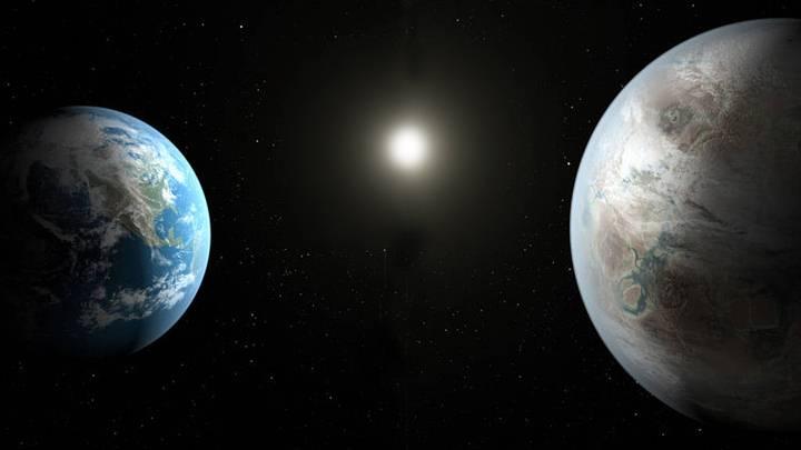 Resultado de imagen de Planetas dotado de condiciones parecidas a la Tierra