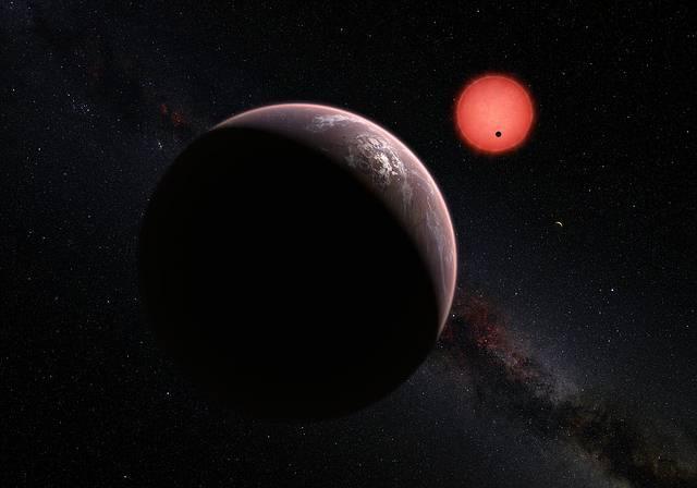 TRAPPIST-1. Imagen ilustrativa.