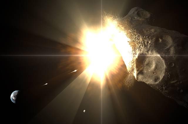 Para probar su idea, los investigadores simularon en el superordenador SKIF Cyberia una explosión nuclear en un asteroide de 200 metros de diámetro. Y ninguno de los fragmentos resultantes cayó sobre la Tierra.
