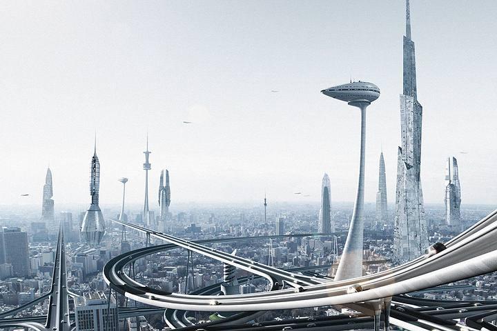 Imagina una sociedad futurista en donde cada cosa es perfectamente lógica... ¿Qué podría salir mal?