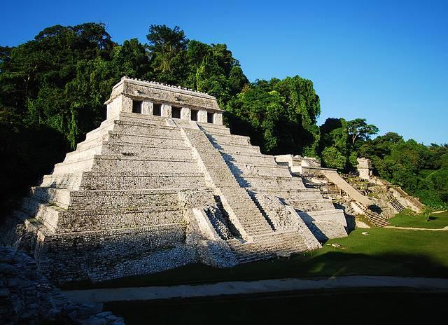 Templo de las Inscripciones. Zona Arqueológica de Palenque. Foto: INAH.