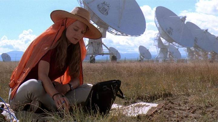 Jodie Foster en 'Contacto' (1997).