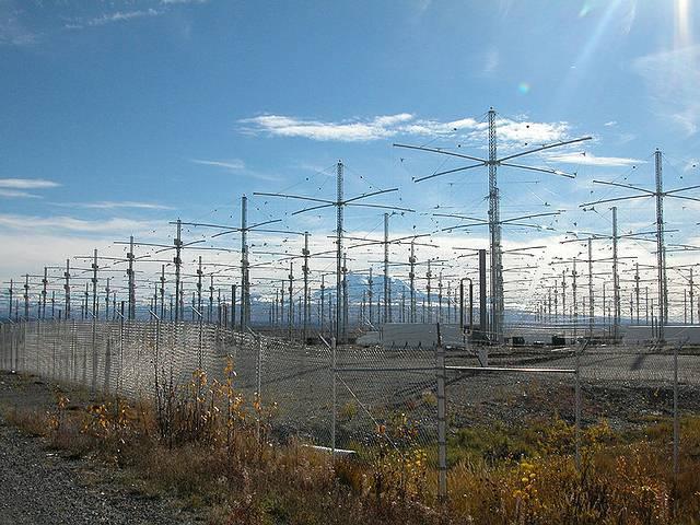 Antenas del HAARP.