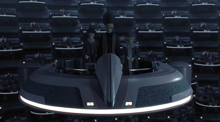 En la saga Star Wars, la Federación de Comercio es un muy poderoso gremio comercial compuesto por varias razas del universo.