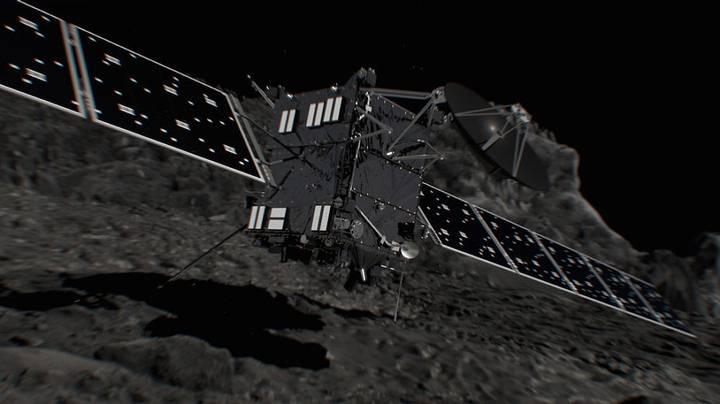 Post Thumbnail of Final suicida: La sonda Rosetta concluye su misión y se estrellará hoy contra el cometa 67P