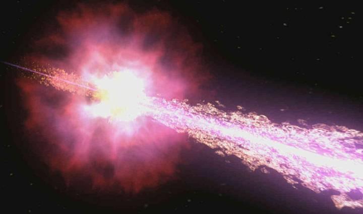 Las grandes explosiones de supernovas son, al menos, responsables de la aceleración inicial de gran parte de los rayos cósmicos, ya que los restos de dichas explosiones son potentes fuentes de radio, que implican presencia de electrones de alta energía.
