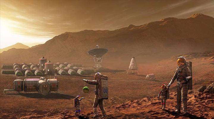 El objetivo de Estados Unidos es establecer una colonia en Marte para antes del año 2030.