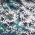 Post thumbnail of ¿Qué son estas nubes hexagonales sobre el Triángulo de las Bermudas?