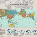 Post thumbnail of El mapa más preciso del mundo gana un prestigioso premio de diseño
