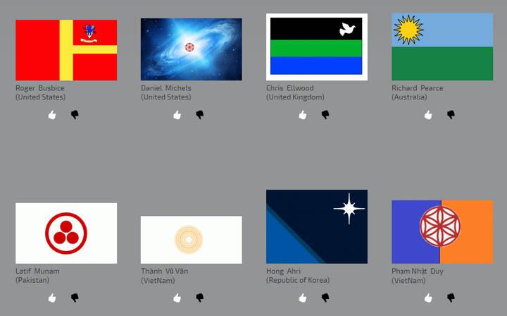 Algunos de los diseños ya presentados.