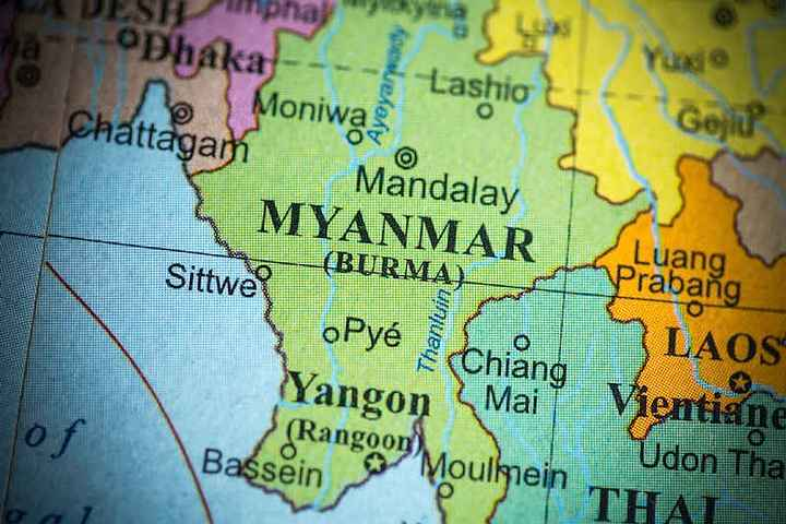 map-of-myanmar