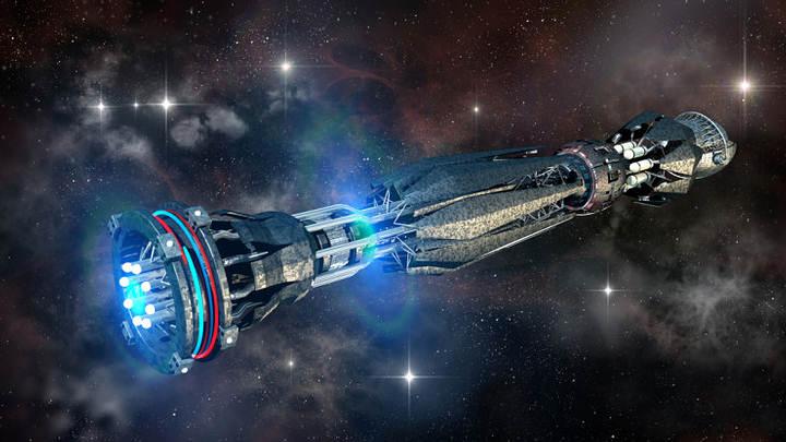 La tecnología se ha denominado «el motor warp» por su similitud con la planta de energía de la serie de ficción Star Trek.