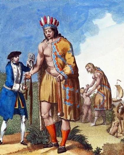 Magallanes habría otorgado a estas personas el nombre de «Patagão» (del portugués, 'pata gau', es decir: pata grande; pero en la crónica no se da más detalles sobre las razones del nombre, con lo cual desde la época de Pigafetta se ha supuesto de que la palabra «Patagonia» se interpreta como 'Tierra de los patagones'.