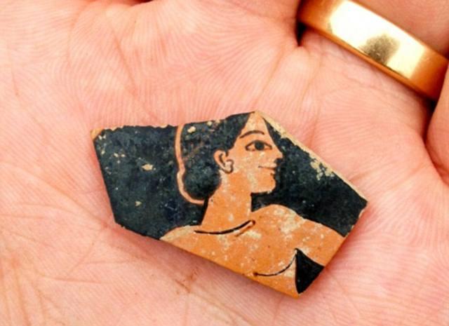 Fragmento de cerámica.