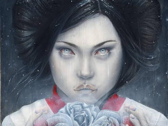 Yuki-onna. Por  Melissa Morgan, 2012.