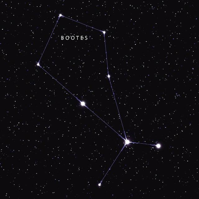 La enana blanca fue detectada en la constelación de Boötes (o el Boyero).