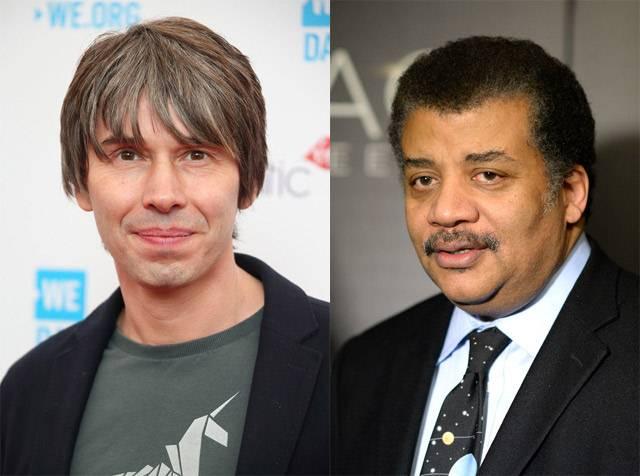 Brian Cox (izquierda) y Neil deGrasse Tyson.