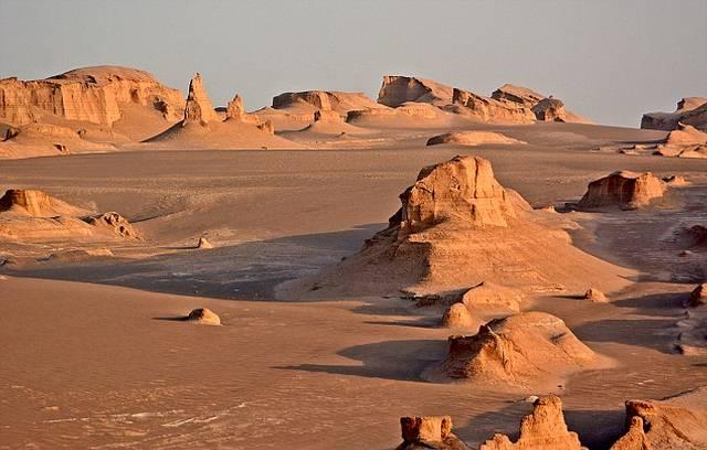 Desierto de Lut, Irán.