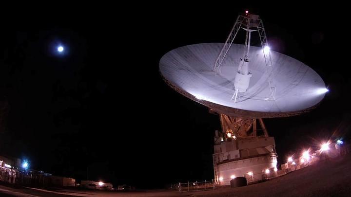 DSS-14, la antena de la NASA utilizada para localizar las sondas.