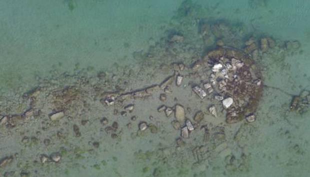 Otros restos encontrados. Foto: Ministerio de Cultura de Grecia.