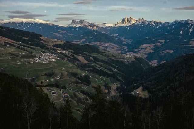 El área donde estaba Ötzi cuando fue asesinado. El crimen sucedió en las montañas.