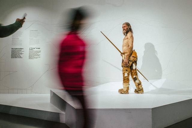 Reconstrucción del aspecto de Ötzi.