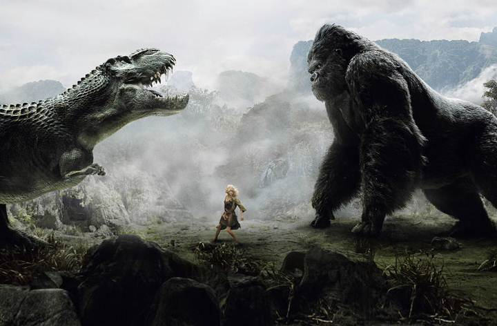 Fotograma de 'King Kong' (2005).