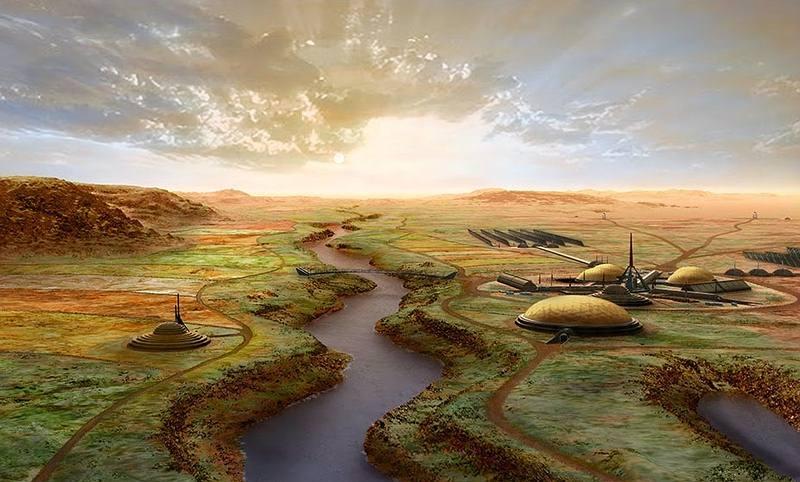 ... y así al final de la segunda fase, transcurridos más de 100.000 años.