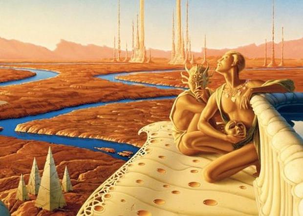 ¿Existieron otras civilizaciones en el sistema solar antes que la humanidad? Ancmartian