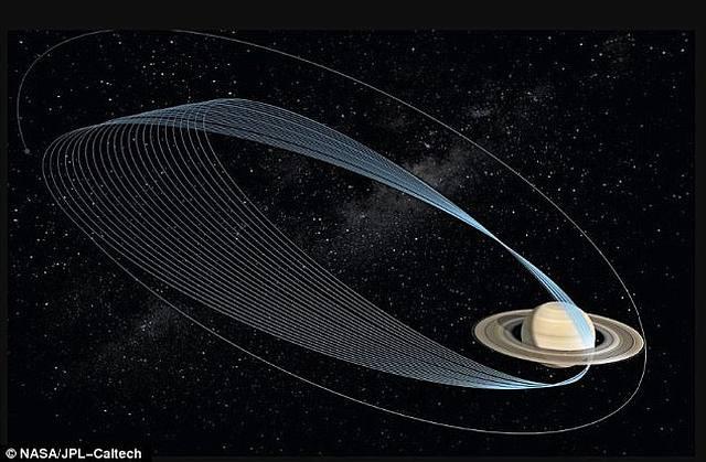 El 26 de abril de 2017, Cassini hará la primera «zambullida» en la inexplorada zona entre Saturno y sus anillos.