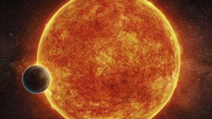 Ilustración del sistema donde se encuentra el exoplaneta recién descubierto.