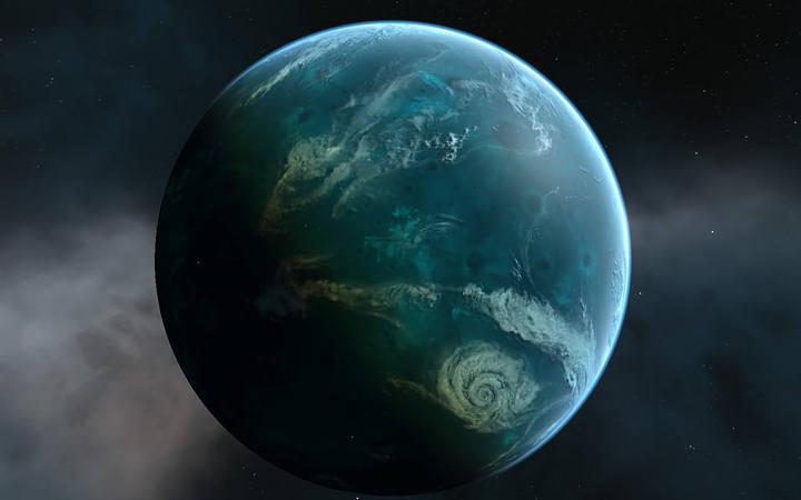 Los continentes en otros planetas habitables lucharían duramente para emerger sobre el nivel de los océanos.