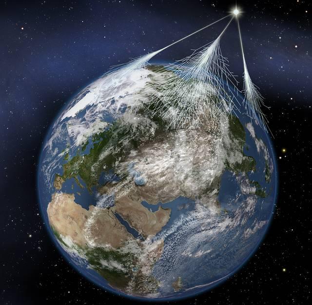 Las supernovas producen rayos cósmicos