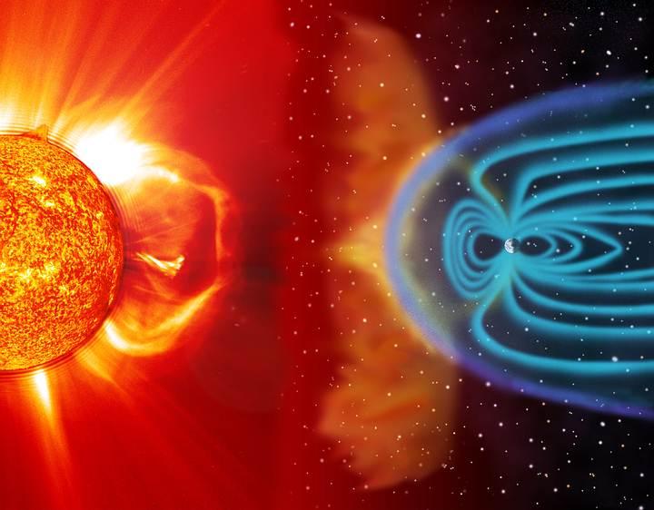 «El campo magnético de la Tierra nos protege de la radiación del espacio, pero al estar fuera de este, quedamos indefensos ante ella».
